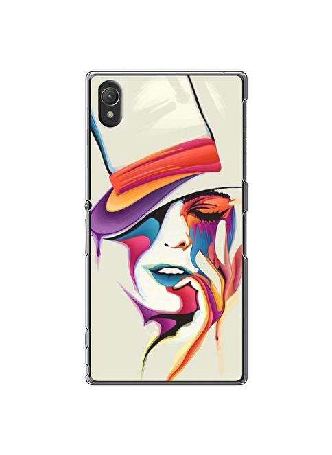 People's Cover Xperia Z2 Kabartmalı Telefon Kılıfı Renkli